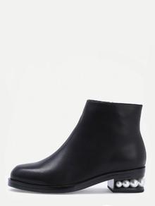 short-black-heel